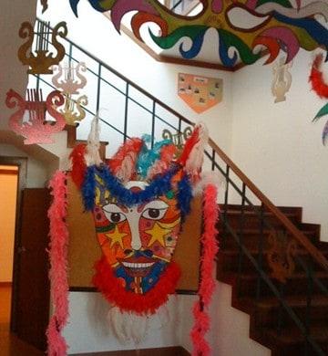 Decoração de Carnaval para escola29