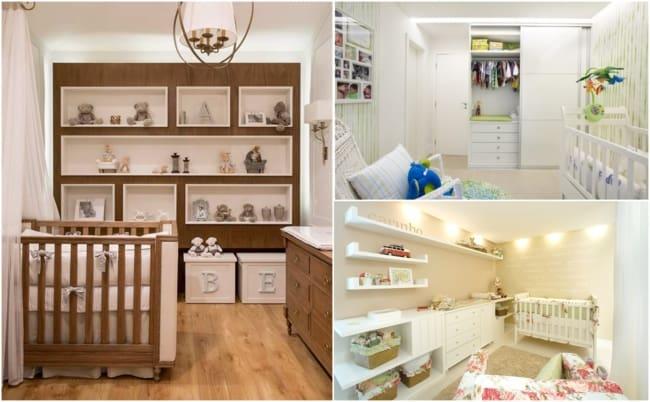 Decoração de quarto de bebê planejado 1