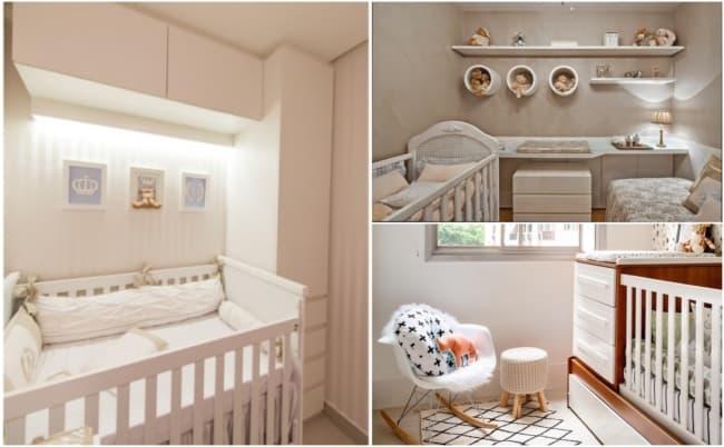 Decoração de quarto de bebê planejado 2