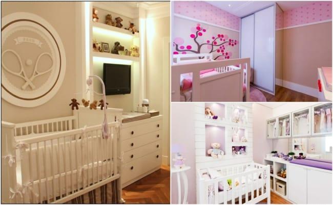 Decoração de quarto de bebê planejado 3