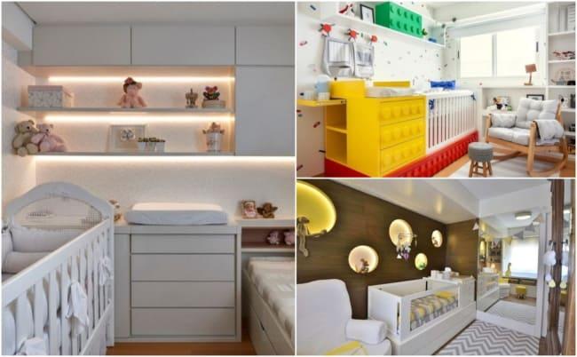 Decoração de quarto de bebê planejado 4