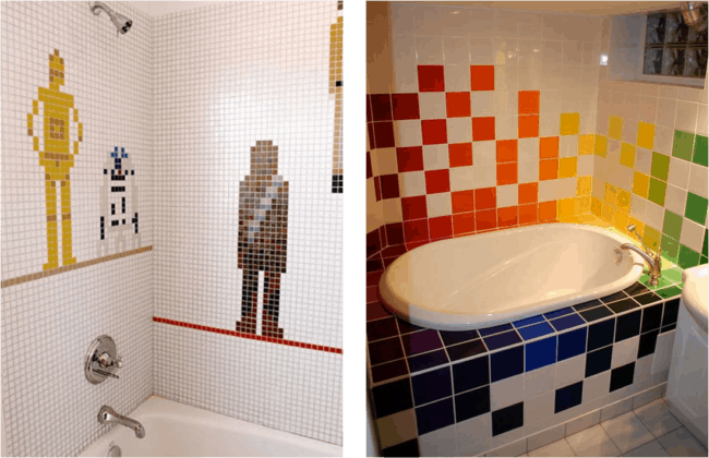 Decoração geek para inovar no visual do banheiro