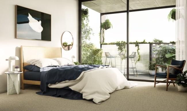Decoração minimalista para quarto de casal