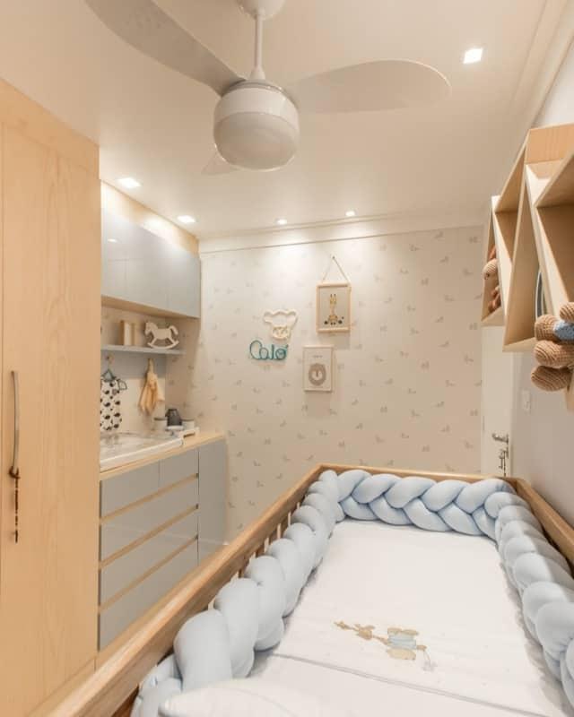 Decoração planejada de quarto de bebê
