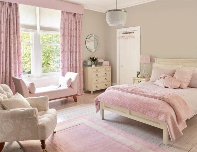 Dica para decorar quarto feminino lindo com rosa