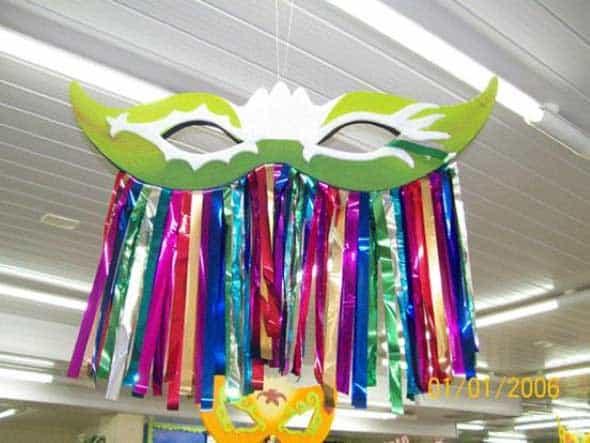 Enfeite de teto para decoração de Carnaval36