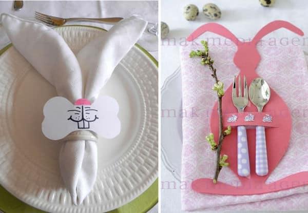 Enfeites de Páscoa para mesa
