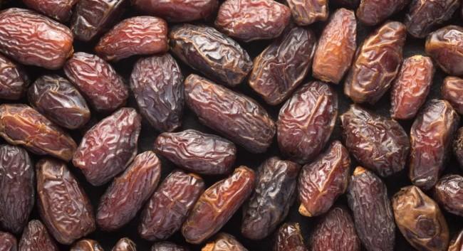 Esses são os frutos que vêm da tamareira
