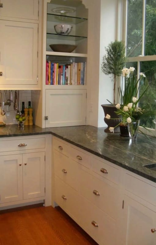 Granito Verde Ubatuba na cozinha ideias