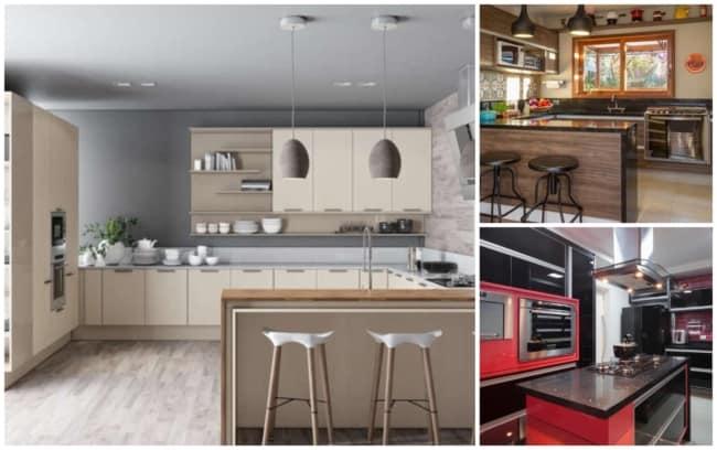 Há projetos de cozinhas americanas planejadas para todos os gostos e bolsos