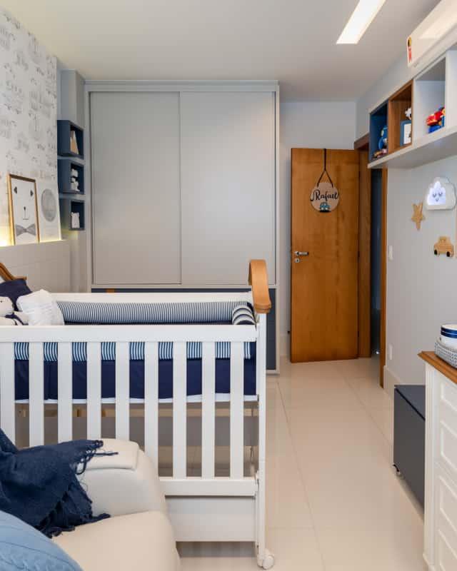 Ideia de quarto para bebê masculino