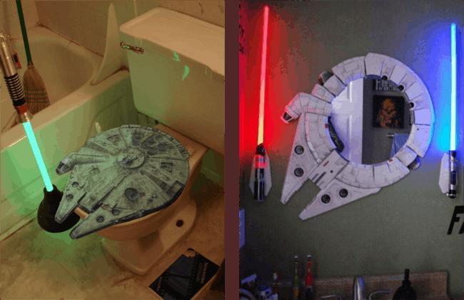 Ideias de decor geek para lavabos
