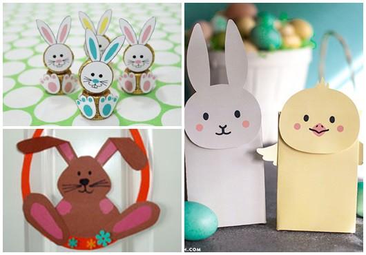 Ideias para decoração de Páscoa para escola1