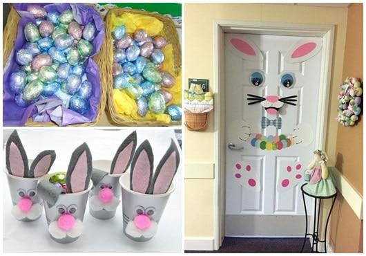 Ideias para decoração de Páscoa para escola2
