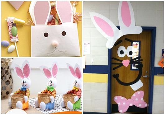 Ideias para decoração de Páscoa para escola5