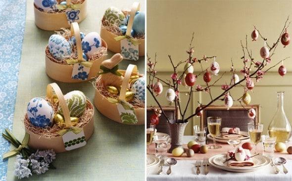 Ideias para decorar a mesa de páscoa