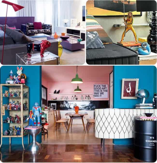 Ideias para decorar salas com estilo geek