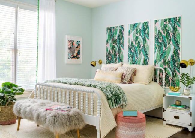 Inspiração para decorar quartos bonitos femininos