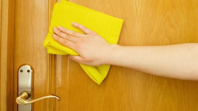 Limpeza de portas