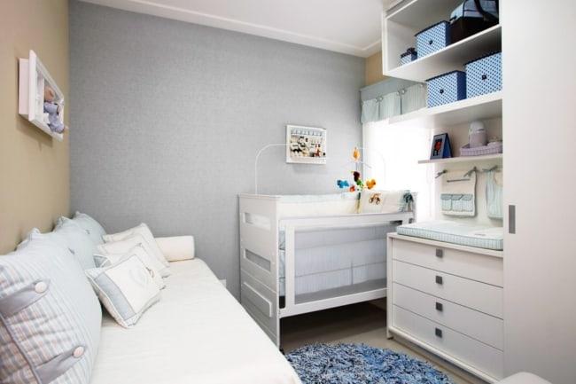 Móveis planejados para quarto de bebê masculino