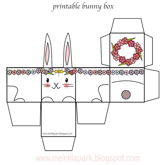 Molde de Caixa de Coelho da Páscoa38