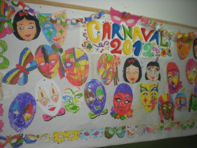 Painel personalizado para decoração de Carnaval35