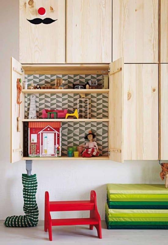 Papel contact para armario de cozinha