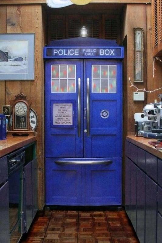 Porta geek para por na cozinha