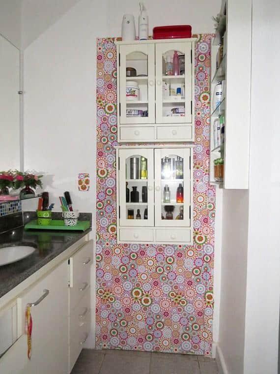 armario da cozinha com contact
