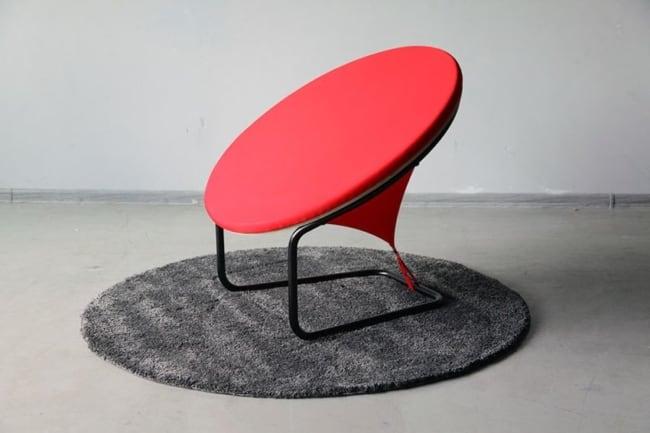 cadeiras diferentes base de ferro