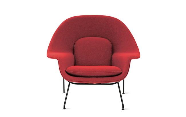 cadeiras diferentes estofado vermelho
