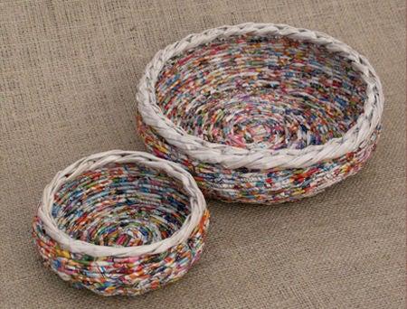 cesta de jornal dupla