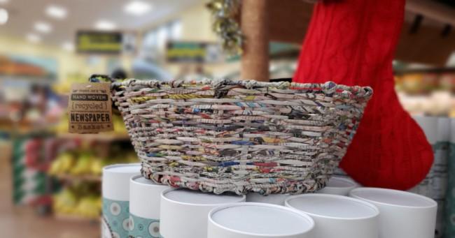 cesta de jornal para vender