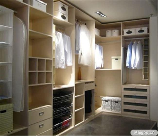 closet em L masculino