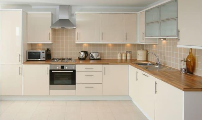 cozinha moderna com Fogão de Embutir
