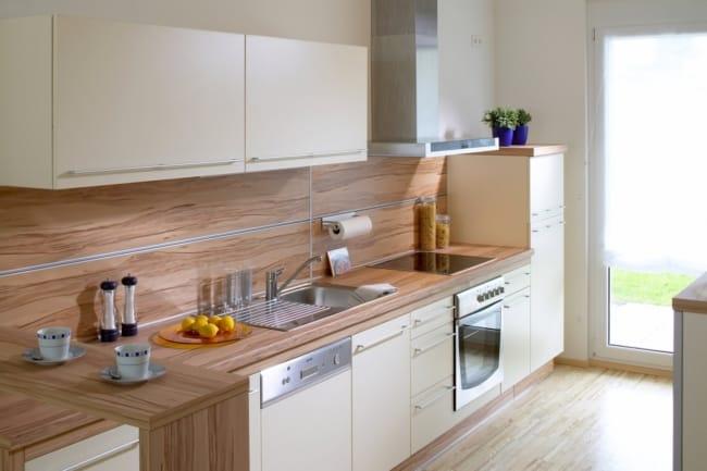 cozinha renovada com Fogão de Embutir