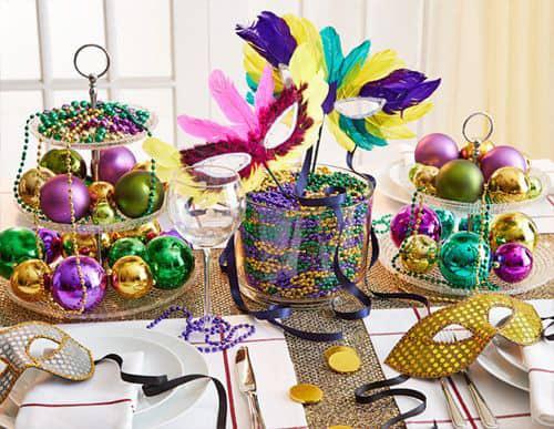 decoração de carnaval para mesa 20
