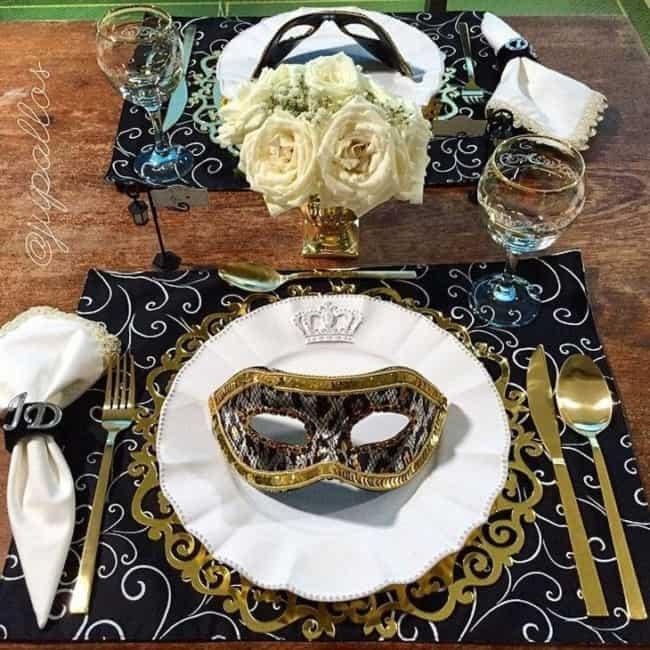 decoração de carnaval para mesa 26