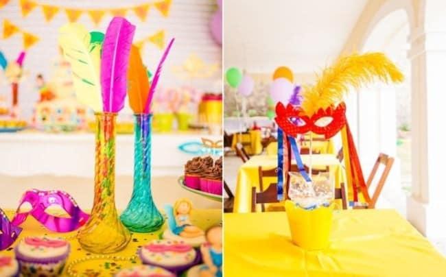 decoração de carnaval para mesa 30