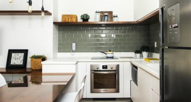 fogão moderno de embutir