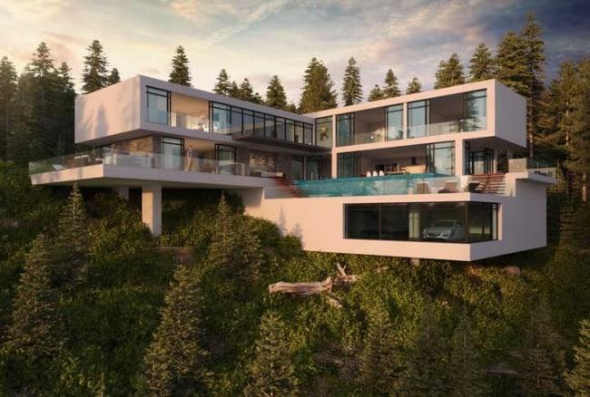 mansões modernas