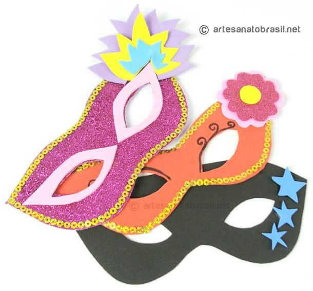 mascaras de carnaval faça voce mesmo 12