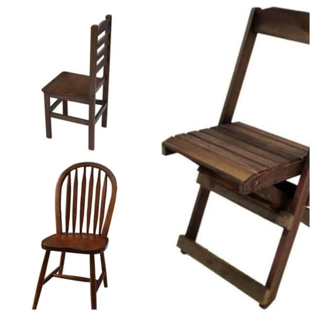 modelos de Cadeira de Madeira