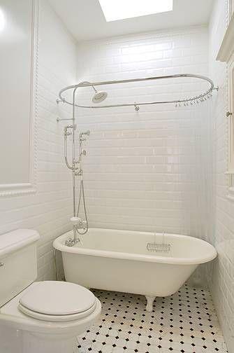 banheiro pequeno com banheiro vitoriana