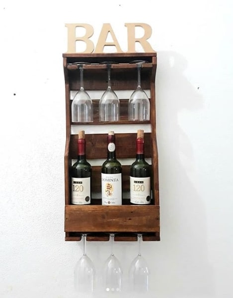 mini bar suspenso
