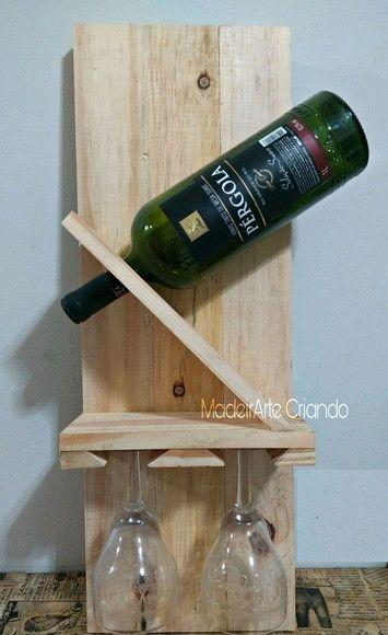 mini bar de parede para garrafa de vinho
