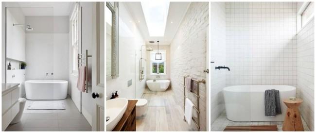 banheira pequena minimalista