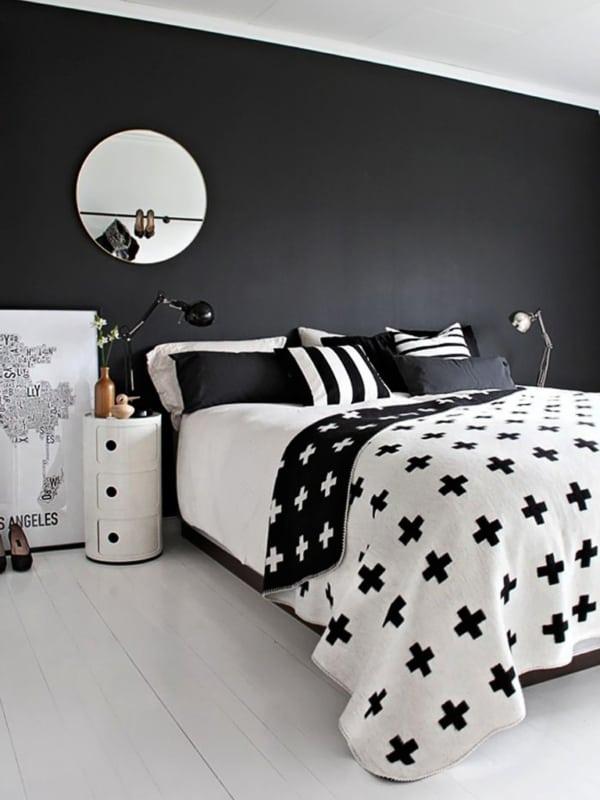 Até os jogos de cama podem combinar com a decoração