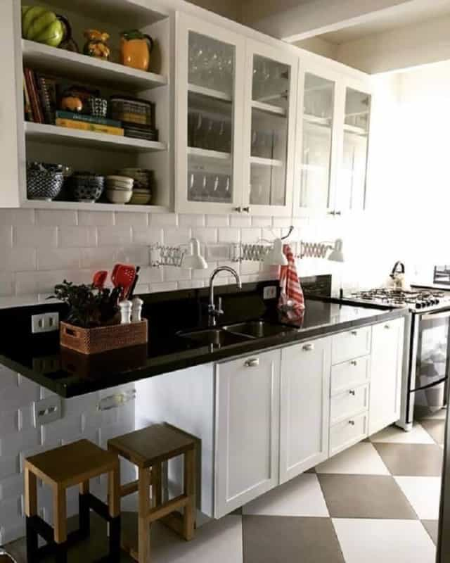 Cozinha vintage em PB