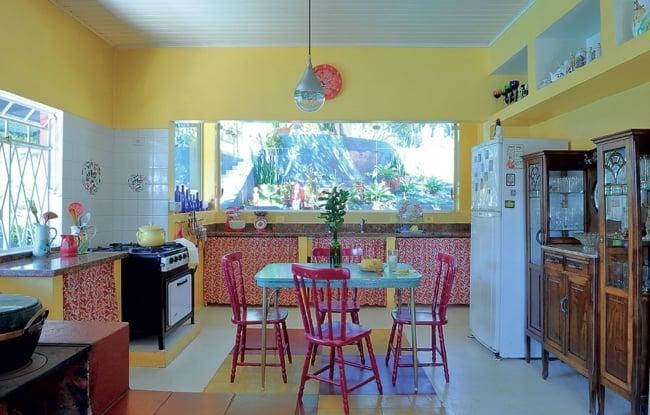 Cozinhas amarelas transparecem vitalidade
